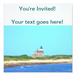 Block Island North Light Invitation