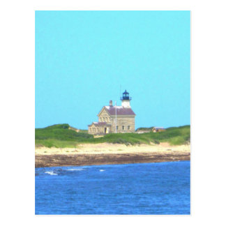 Block Island North Light Postcard