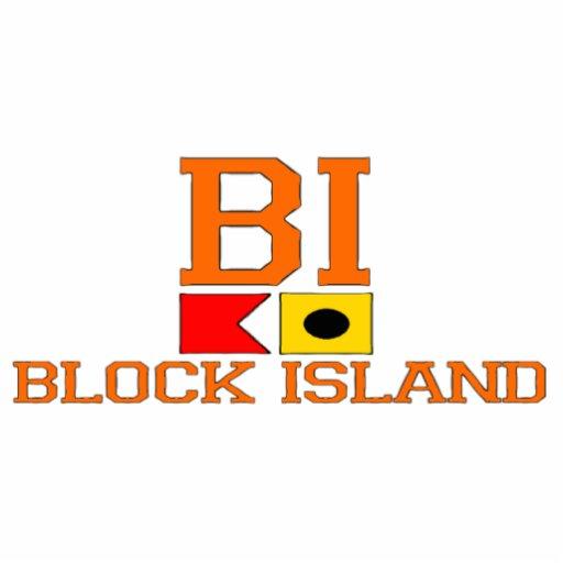 Block Island. Photo Sculpture Magnet