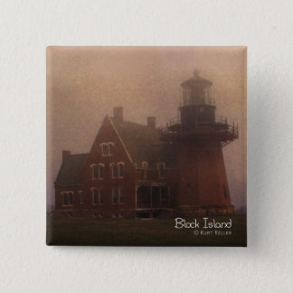 Block Island Pinback Button