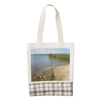 Block Island Pond 2 Zazzle HEART Tote Bag