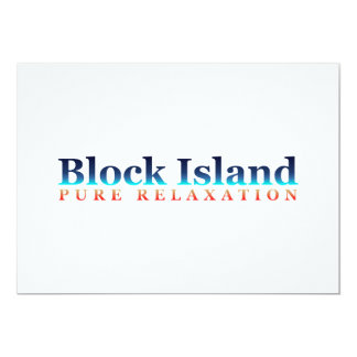 Block Island: Pure Relaxation Card