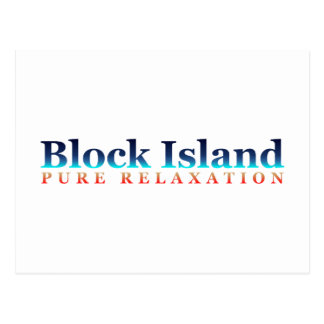 Block Island: Pure Relaxation Postcard