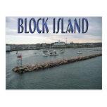 Block Island Rhode Island Tarjeta Postal