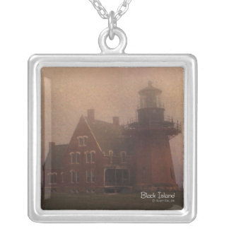 Block Island Silver Plated Necklace