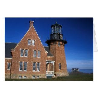 Block Island Southeast Lighthouse Mohegan Bluffs Card