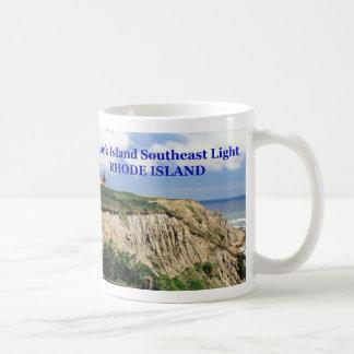 Block Island Southeast Lighthouse, Rhode Island Classic White Coffee Mug