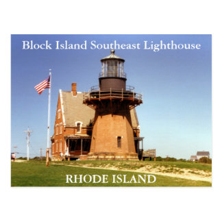 Block Island Southeast Lighthouse, RI Postcard