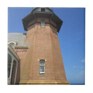 Block Island suroriental de la torre del faro Azulejos