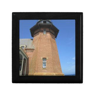 Block Island suroriental de la torre del faro Cajas De Recuerdo