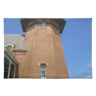 Block Island suroriental de la torre del faro Mantel Individual