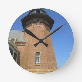 Block Island suroriental de la torre del faro Reloj