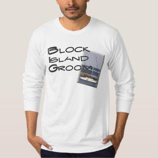 Block Island Weddings, Groom T-Shirt