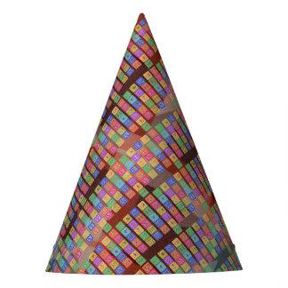 Block Letters Party Hat