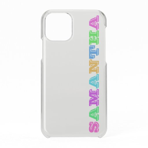 Block Letters With Your Name | Custom iPhone Case