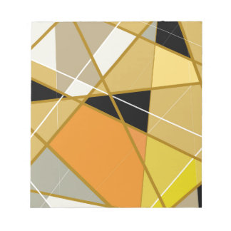 Block memo Geometrical abstract Notepad