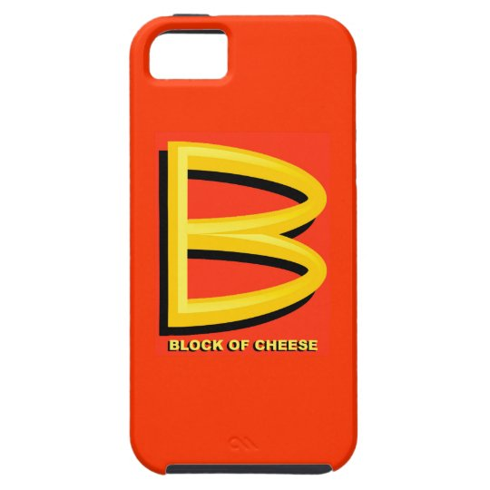 Block of Cheese iPhone SE/5/5s Case