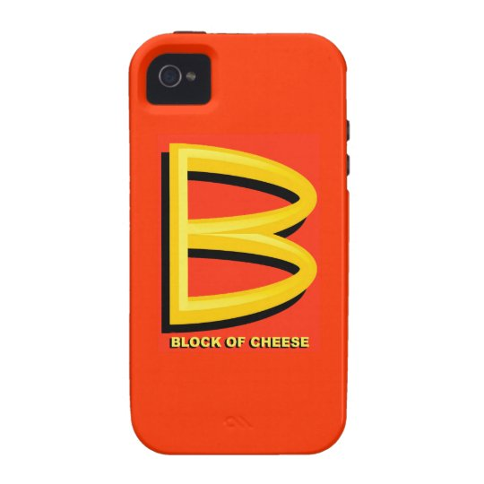 Block of Cheese Vibe iPhone 4 Case