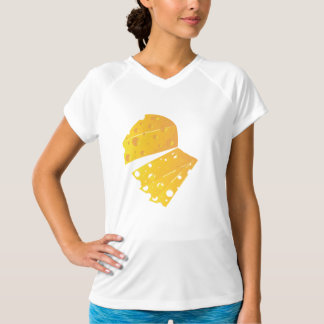 Block Of Cheese Womens Active Tee