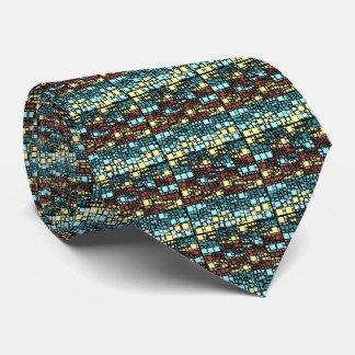 Block on block tie
