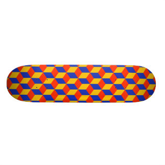 Block Pattern 01 Skateboard