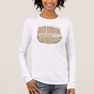 Block Print. Use what talent you possess Long Sleeve T-Shirt