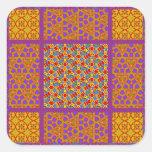 Block Quilt Pattern 2 Stickers