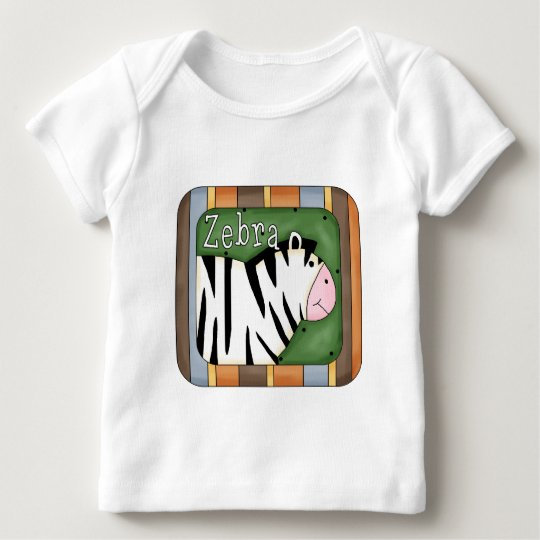 Block Zebra T-shirts and Gifts