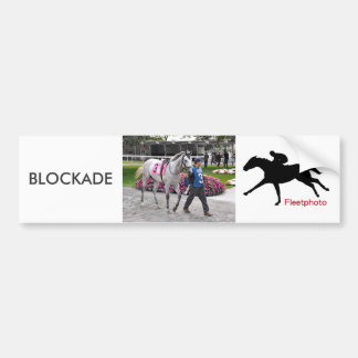 Blockade Bumper Sticker