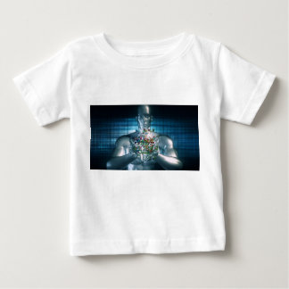 Blockchain Solutions in the Business World Concept Baby T-Shirt