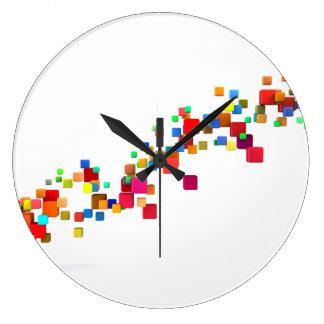 Blockchain Technology as a Creative Business Large Clock