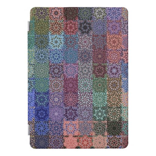 Blocked Color Bursts iPad Pro Cover