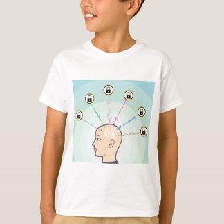 Blocked Locked Secured Brainwaves T-Shirt