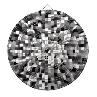 Blocked Space Dartboard With Darts