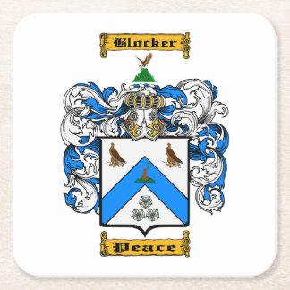 Blocker Square Paper Coaster