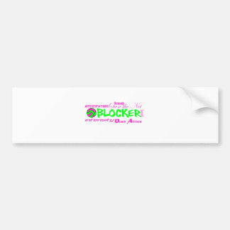 Blocker Traits Bumper Sticker