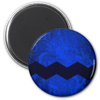 Blockhead 2 Inch Round Magnet
