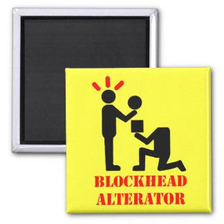 Blockhead Alternator 2 Inch Square Magnet
