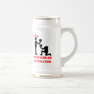 Blockhead Alternator Beer Stein