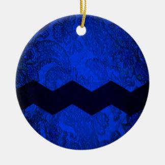 Blockhead Ceramic Ornament