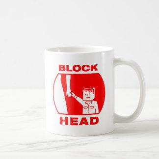 Blockhead Coffee Mugs