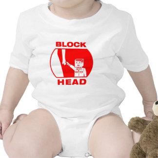 Blockhead Baby Bodysuit