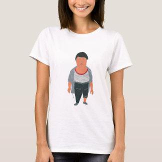 Blockiness, plump T-Shirt