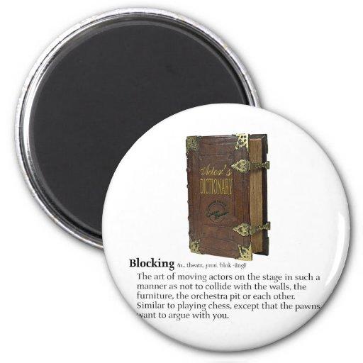 Blocking Fridge Magnet