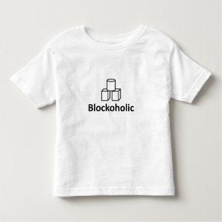 Blockoholic Toddler T-shirt