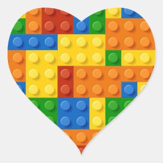 blockparty jpg calcomanías de corazones personalizadas