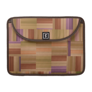 Blocks and Stripes Sleeve For MacBook Pro