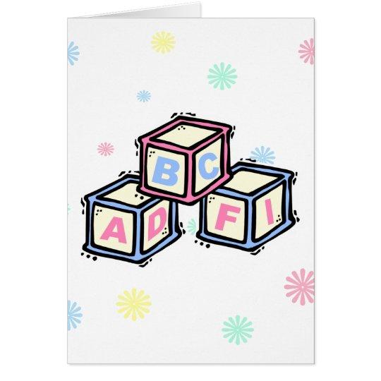 Blocks Card