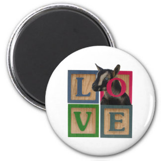 BLOCKS LOVE GOAT MAGNET