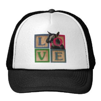 BLOCKS LOVE GOAT TRUCKER HAT